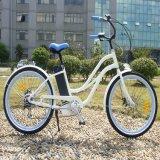 26명 인치 LCD 디스플레이 여자 바닷가 함 전기 자전거 (RSEB-1215)