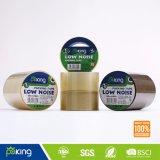 Transparente bajo ruido BOPP cinta adhesiva de embalaje