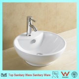 Ovs特別なデザイン最もよい価格の白い芸術の洗面器の虚栄心の磁器の洗面器