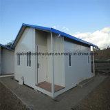 Chambre résidentielle légère préfabriquée faite sur commande de structure métallique