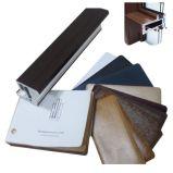 Película exterior del PVC del grano de madera