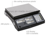 Échelle de plate-forme calculatrice des prix d'acier inoxydable de Haoyu Digital
