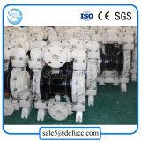 Bomba de diafragma dobro plástica pneumática química do fluxo Qbk-40 elevado