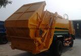 155 Kw 6 катит 12 тонны, котор выжимк собирает тележку тележка Compactor отброса 12 t для экспорта