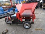 Carro de descargador del cemento eléctrico del precio al por mayor de Hotsale que introduce