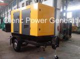 Мобильный генератор Cummins 40kw 4BTA для продаж в Африке
