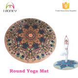 De ronde Fabrikant van de Mat van de Yoga van de Matten van de Yoga Antislip Rubber Milieuvriendelijke Beste