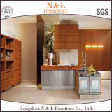 Impiallacciatura di lusso usata casa di legno dell'armadio da cucina della melammina