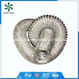 Conducto flexible de aluminio del aire acondicionado de las capas dobles para el sistema y las piezas de la HVAC
