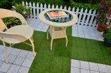 Instalação fácil / removível Artificial Grass Garden Floor Decorative Tile