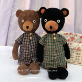 Novel Bear Plush Toy com roupas