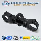 Подгонянный алюминиевый/алюминиевый профиль с подвергать механической обработке CNC (ISO9001: аттестованное 2008 & аттестованное RoHS)