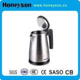 Caldaia elettrica di piccola capacità dell'acciaio inossidabile da 0.6 litri dell'hotel con il cassetto di tè