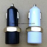 2 in 1 Dubbele Draagbare Lader van de Auto USB met Aansteker