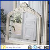 Espelho de vidro flutuante de 2 mm a 6 mm para espelho de sobreposição