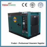 Бесшумный дизельный двигатель с водяным охлаждением воздуха электрической мощности генераторной установки