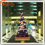 De hete Kunstmatige Kerstboom van pvc van de Verkoop voor de Decoratie van de Markt