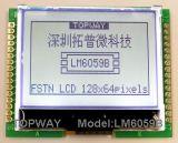 128X64 도표 LCD 모듈 이 유형 LCD 디스플레이 (LM6063) 매우 경조