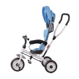 Fahrt auf Baby-Träger spielt preiswertes Kind-Dreirad mit Stoss-Stab