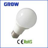 Luz de bulbo elevada do diodo emissor de luz do lúmen 6W E27 A60 (GR2923)