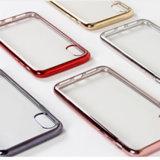 Galvanoplastia Teléfono Móvil de TPU para iPhone x