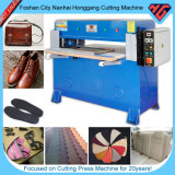 Гидровлическая плоскость умирает автомат для резки для ботинок/пластмассы/пены/кожи/картона/ткани
