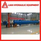 Cilindro hidráulico personalizado do desengate reto médio da pressão para o projeto da tutela da água