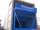 Máquina de tratamento por lotes concreta PLD4800 Batcher agregado da eficiência elevada