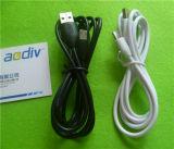 Qualitätkupferne Mikrov8-totaldattel USB-aufladenkabel für Samsung