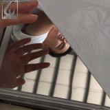 Miroir argenté de laminage à froid dépliant la feuille de l'acier inoxydable 304