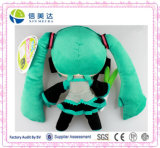 Kawayi Hatsune Miku Cartoon Cartoon Peluche Toy 12inch