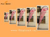 bandierina di alluminio di volo di stampa di Digitahi di promozione di evento di 2.8m/bandierina del Teardrop