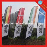Изготовленный на заказ логос рекламируя знамя флага летания