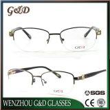 2018 het semi-randloze Optische Frame van de Oogglazen van Eyewear van het Metaal