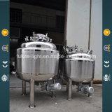 La parte inferior de acero inoxidable de 1000L depósito mezclador emulsificador