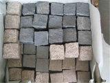 De Straatsteen van het graniet, Cobble Steen, de Steen van de Betonmolen met Ingeschakelde Rug voor Oprijlaan