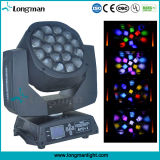 Ce 19*15W RGBW moviendo la cabeza LED China haz de luces de DJ