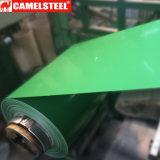 De kleur bedekte de Vooraf geverfte Gegalvaniseerde Rol PPGI van het Staal met een laag