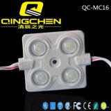 Modulo impermeabile del segno di luminosità 5050 LED di DC12V 0.96W 4chips ultra