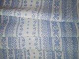 A impressão de fibra de bambu com pano azul céu
