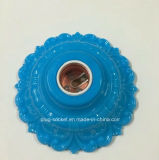 E27 цветного пластика с покрытием из алюминия меди Lampholder (L-112)