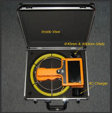 Video macchina fotografica portatile in tempo reale impermeabile di controllo del tubo IP68