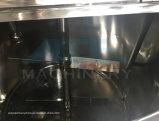 500litres sanitair het Verwarmen van de Stoom Roestvrij staal dat Tank (ace-jbg-0.5Z) mengt