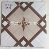 Плитка пола стены Inkjet деревянной конструкции керамическая застекленная