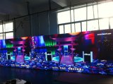 Alquiler P4 usados Etapa cubierta de aluminio del panel LED a todo color