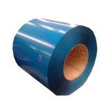 24 calibri laminato a freddo la bobina d'acciaio galvanizzata preverniciata di PPGI per lo strato del tetto