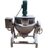 50L-1000 L поворотный из нержавеющей стали для приготовления пищи в защитной оболочке нагнетательного цилиндра