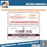 Impressions laser pour Matelas Matelas coin de papier, étiquette imprimée, brodés, de la poignée de Matelas Matelas marque Tag, oblique, tissés Label, carte de garantie