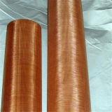 Красная медная ячеистая сеть для печатание Chinaware (ширина 0.914m)