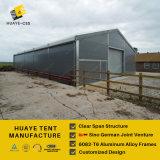 Подгонянный конструированный алюминиевый шатер с сталью обшивает панелями стены (HAF 20M)